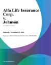 Alfa Life Insurance Corp V Johnson