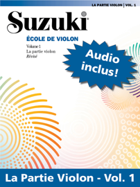 L'Ecole violon de Suzuki – Volume 1 (Révisé)