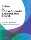 Collins V African Methodist Episcopal Zion Church