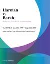 Harman V Borah