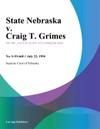 072294 State Nebraska V Craig T Grimes