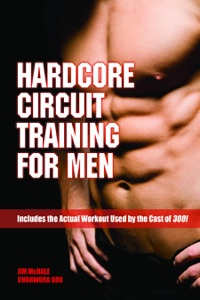 Hardcore Circuit Training for Men Book Cover
