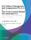 U Triboro Chiropractic And Acupuncture PLLC V New York Central Mutual Fire Insurance Co