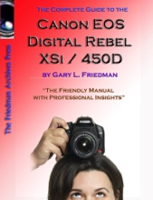 The Complete Guide To The Canon Eos Digital Rebel XSI / 450D