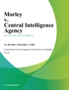 Morley V Central Intelligence Agency