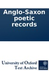 Anglo-Saxon Poetic Records