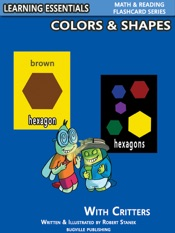 Colors & Shapes Flash Cards: Colors, Shapes and Critters