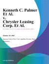 Kenneth C Palmer Et Al V Chrysler Leasing Corp Et Al