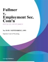 Fullmer V Employment Sec Comn
