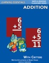 Addition Flash Cards Addition Facts With Critters