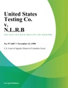United States Testing Co V NLRB