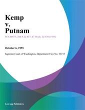Kemp V. Putnam
