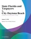 State Florida And Taxpayers V City Daytona Beach