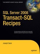 SQL Server 2008 Transact-SQL Recipes