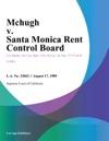 Mchugh V Santa Monica Rent Control Board
