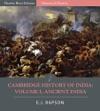 The Cambridge History Of India Volume 1 Ancient India