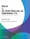 Davis V St Paul Mercury  Indemnity Co
