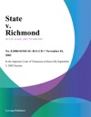 State V Richmond