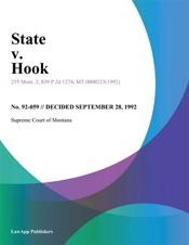 Download and Read Online State v. Hook