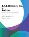 TSI Holdings