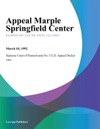Appeal Marple Springfield Center
