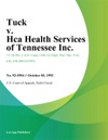 Tuck V Hca Health Services Of Tennessee Inc