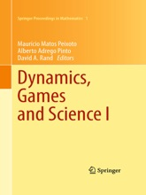 Dynamics, Games And Science I