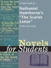 A Study Guide For Nathaniel Hawthorne's
