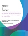 People V Carter