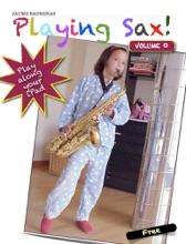 Playing Sax!
