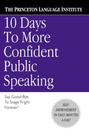 10 Days to More Confident Public Speaking book