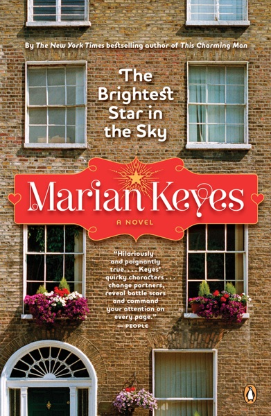 The Brightest Star in the Sky - Marian Keyes book cover