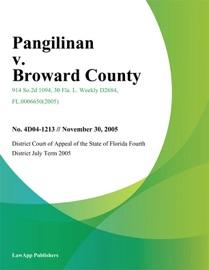 PANGILINAN V. BROWARD COUNTY