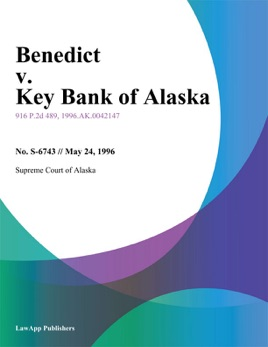 ‎Benedict v  Key Bank of Alaska