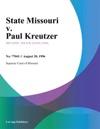 082096 State Missouri V Paul Kreutzer