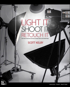 Light It, Shoot It, Retouch It: Learn Step by Step How to Go from Empty Studio to Finished Image Cover Book