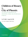 Children Of Rosary V City Of Phoenix