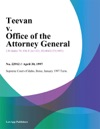 Teevan V Office Of The Attorney General