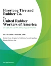 Firestone Tire And Rubber Co V United Rubber Workers Of America