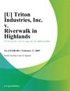 U Triton Industries