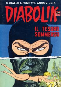 DIABOLIK (82) Copertina del libro