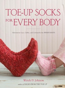 Toe-Up Socks for Every Body Book Cover