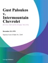 Gust Paloukos V Intermountain Chevrolet