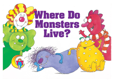 Where Do Monsters Live? Enhanced eBook - Rozanne Lanczak Williams book