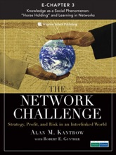 The Network Challenge (Chapter 3): Knowledge As A Social Phenomenon: