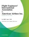 Flight Engineers International Association V American Airlines Inc