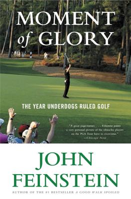 Moment of Glory - John Feinstein book