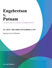 Engebretson V. Putnam