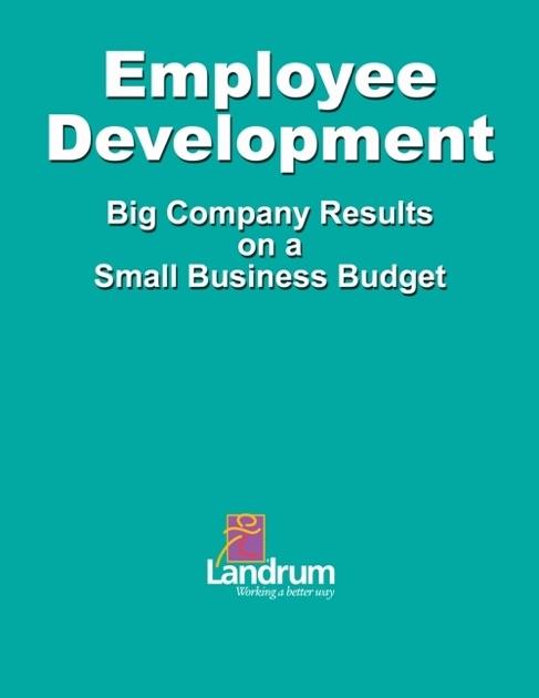 landrum human resourcesの employee development big business