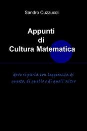 Appunti di cultura matematica